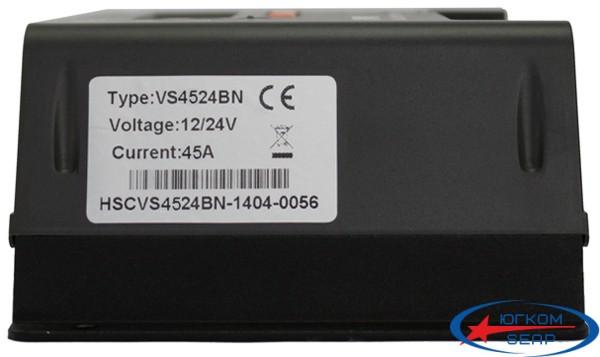 Контроллер, ШИМ 45А 1224В с дисплеем, (VS4524BN) EPSolar - 5