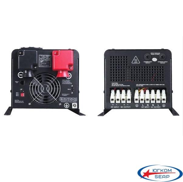 Гибридный ИБП+стабилизатор 2000Вт 24В + MPPT контроллер 60А 24В, APSV 2000W-24V - 1