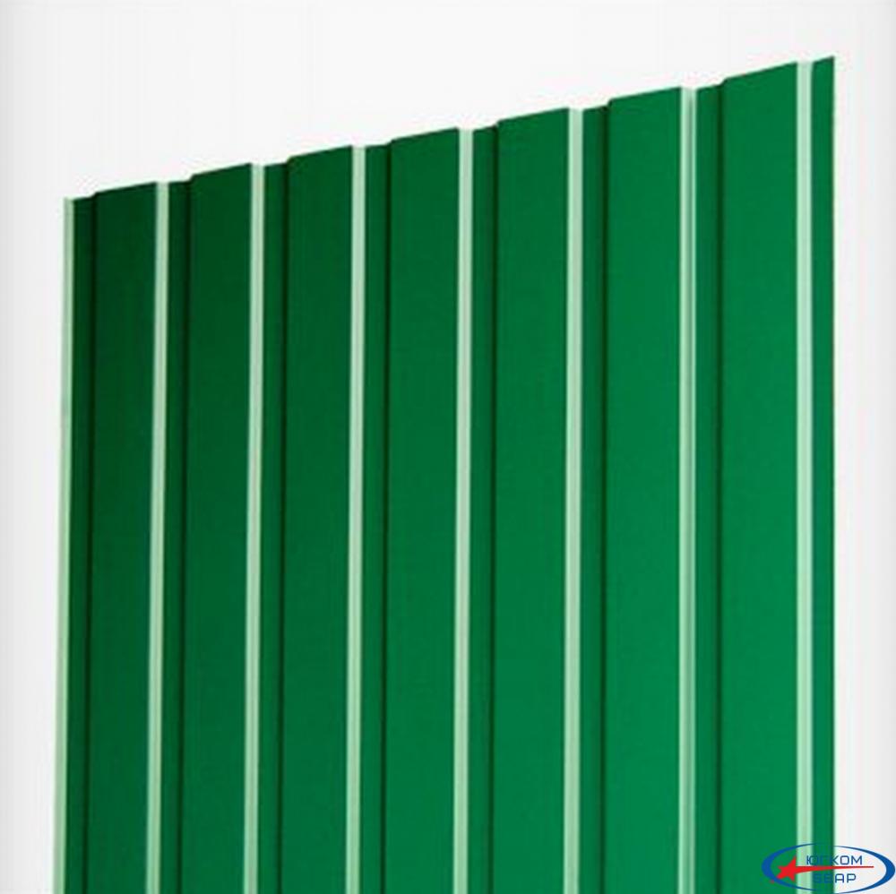 Профнастил ПС-10 1,21х1,5 (0,4) зеленый 6005 - 1